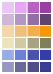 Four Leaf Clover DP palette